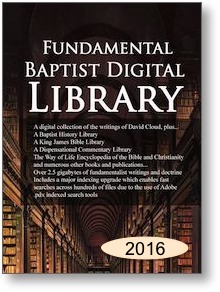 Fundamental Baptist Digital Library 2016